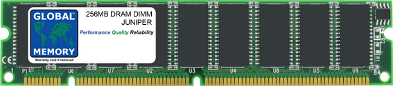 256MB DRAM DIMM MEMORY RAM FOR JUNIPER M5, M10, M20, M40, M40e, M160 ROUTER'S RE-2.0 / RE-333 ROUTING ENGINE (MEM-RE-256-S)