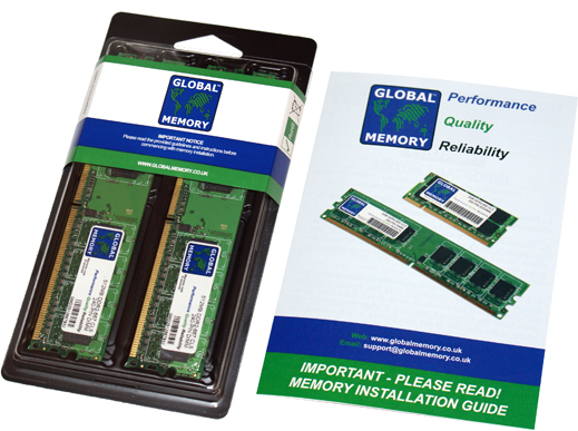 4GB (2 x 2GB) DDR2 533MHz PC2-4200 240-PIN DIMM MEMORY RAM KIT FOR PC DESKTOPS/MOTHERBOARDS