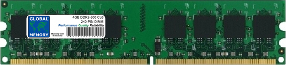 4GB DDR2 667/800MHz 240-PIN DIMM MEMORY RAM FOR FUJITSU-SIEMENS DESKTOPS