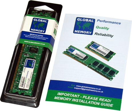 512MB DDR2 800MHz PC2-6400 240-PIN ECC DIMM (UDIMM) MEMORY RAM FOR HEWLETT-PACKARD SERVERS/WORKSTATIONS