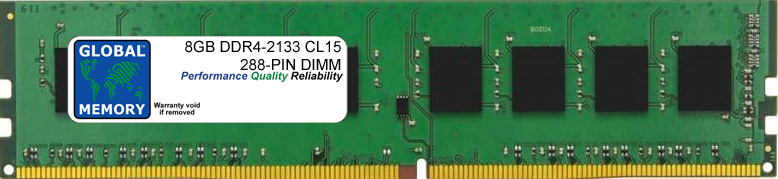 8GB DDR4 2133MHz PC4-17000 288-PIN DIMM MEMORY RAM FOR ADVENT PC DESKTOPS