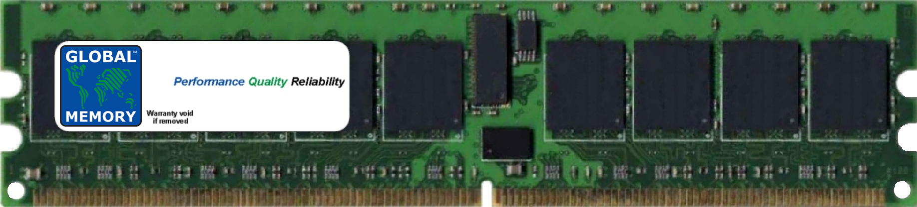 240-PIN DDR2 ECC REGISTERED DIMM (RDIMM)